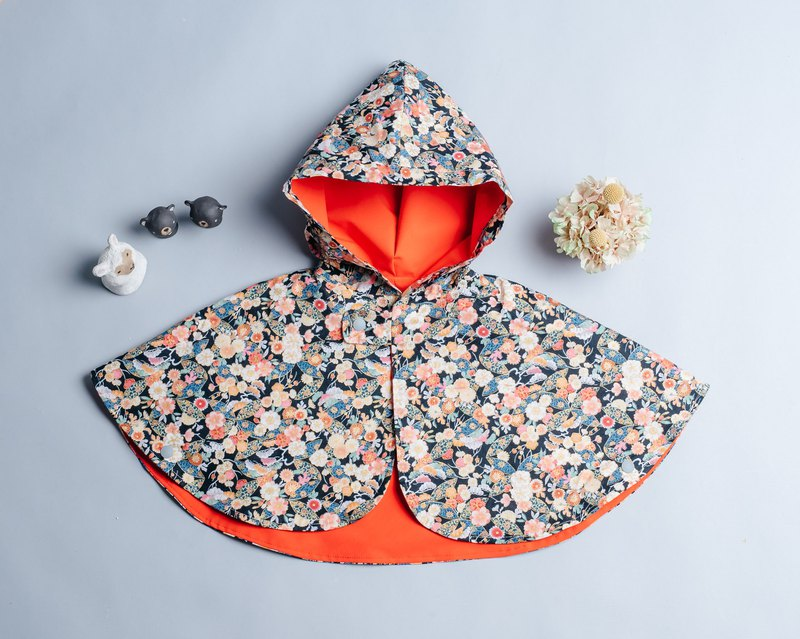 Reversible Cloak-Hefeng 1vs Waterproof 8 Hand Made Non-toxic Jacket