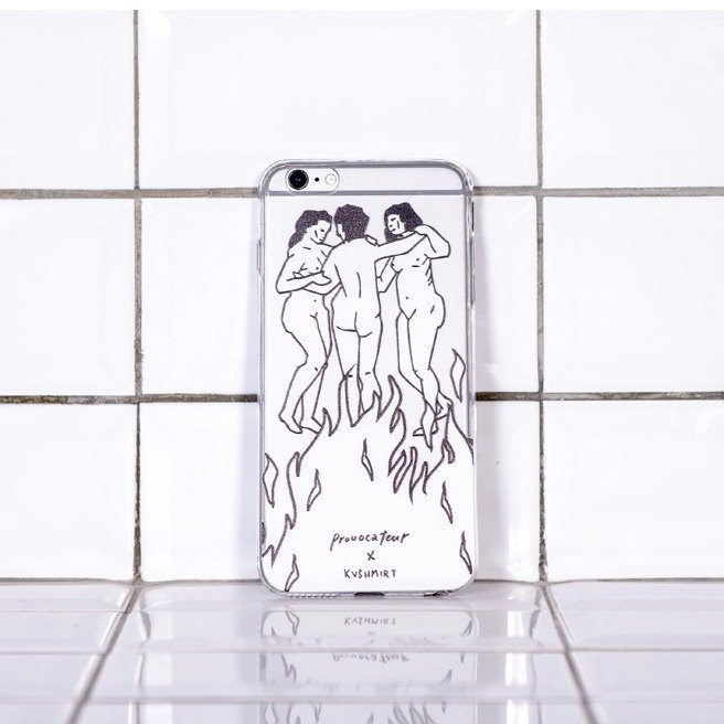Women iPhone Case - Collaboration with Spanish Tattoo Artist KVSHMIRT
