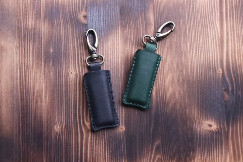 Lighter Holster Keychain / Vegetable Tanned Leather Universal