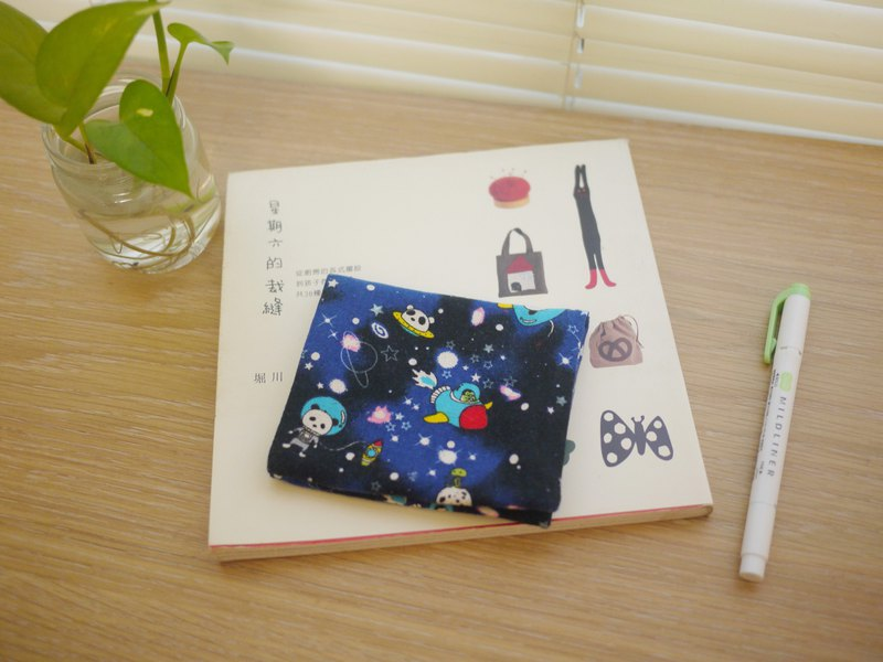 The best choice for storing personal items = paper/cotton storage bag = cosmic walk panda = blue