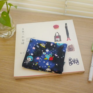 Best choice for storing close-fitting items = face paper / cotton cotton storage bag = cosmic walk panda = blue