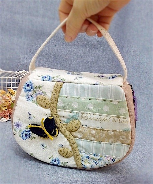 wonderland22 butterfly hand tool bag | cosmetic bag