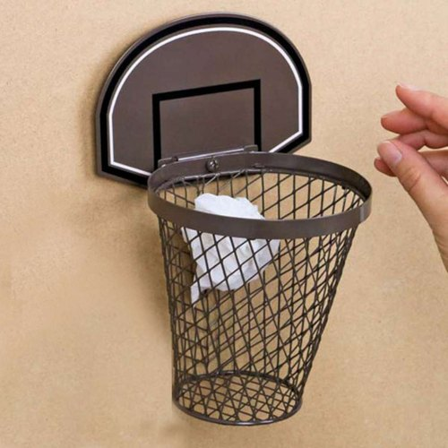 Japan Magnets shooting practice small basket trash can / storage bucket (coffee) 1L- spot free transport