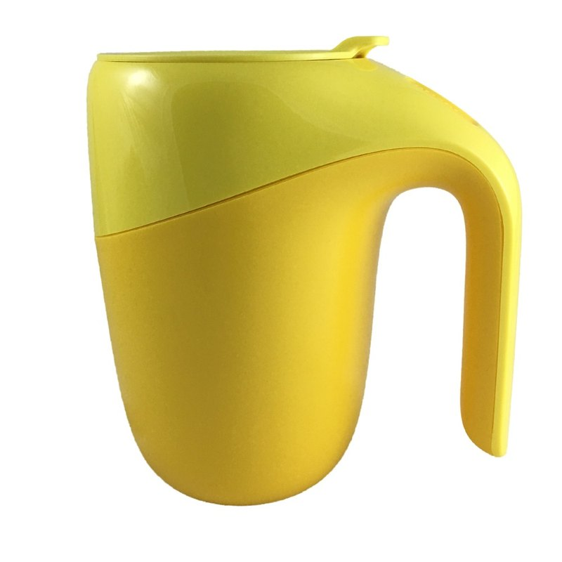 Elephant insulation does not pour the cup - duckling yellow