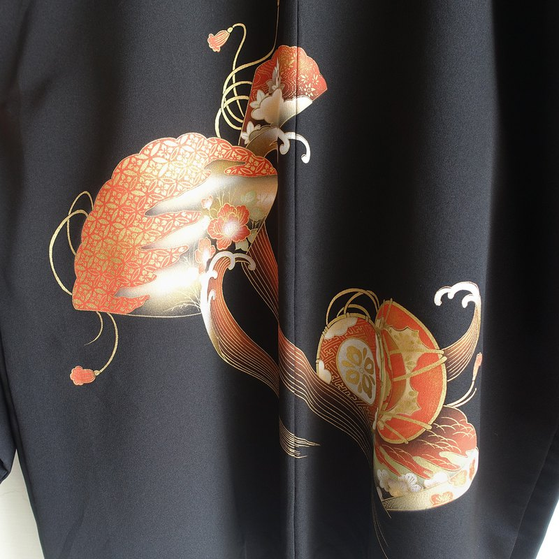 │Slowly│Japanese antique-light kimono long coat P1│ vintage.vintage.vintage.literary.