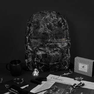 ORIBAGU origami package _ black marble orangutan Backpack