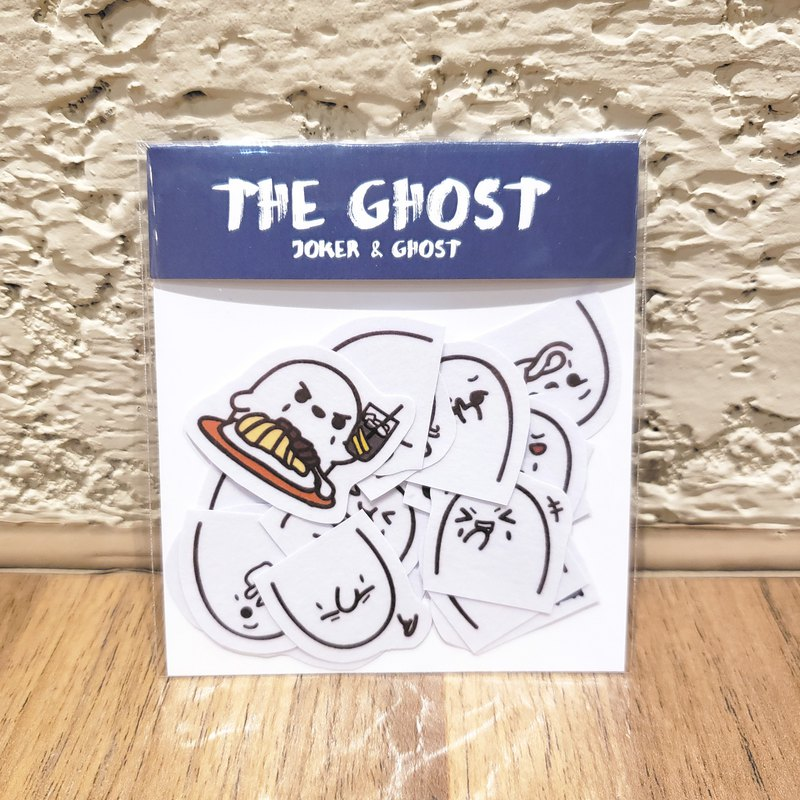 A ghost 18 and paper stickers