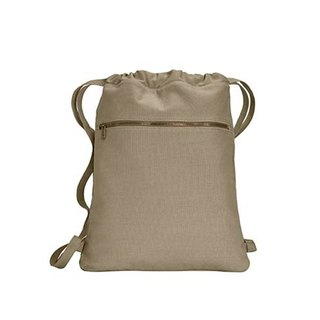 Comfort Colors│American Fashion Bundle Back Backpack│Canvas Bag│Side Backpack|Khaki