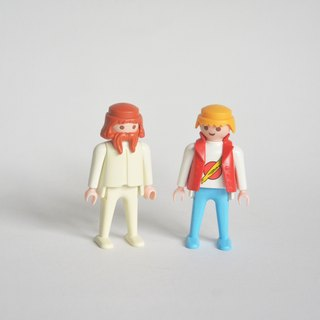 German early playmobil 1974 Mbei duo group