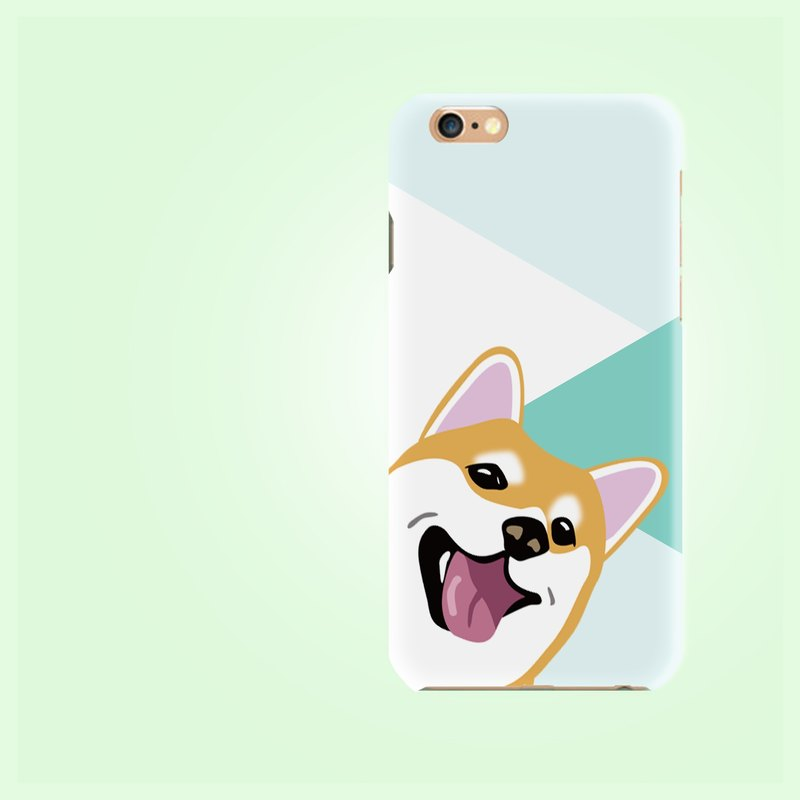 Shiba dog AOP 2 Matt finishes rigid hard Phone Case Cover  for  iphone X  7 6S 8