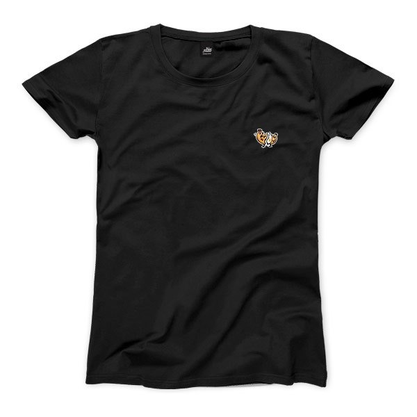 nice to MEAT you - Chicken - Black - Women's T-Shirt