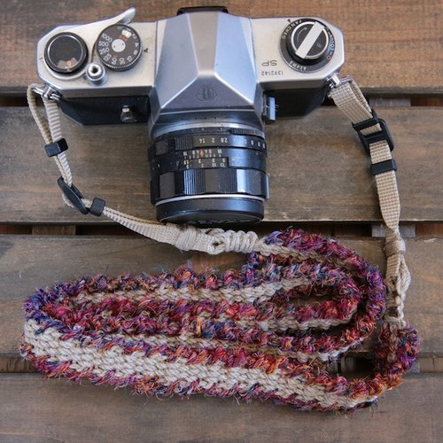 fuchidori Asahimo hemp camera strap (belt)