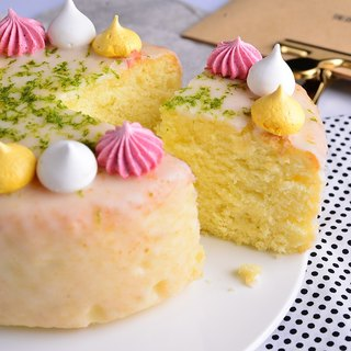 Halloween - Yellow Cheng Cheng Lemon Cake - 6吋 Birthday Cake Festival Cake