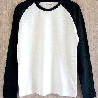 Blank Plain White Long Sleeve Long Sleeve Tee (Men's)