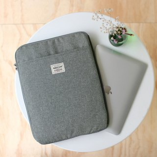 Multi-layered easy to use bag (13.5 notebook OK) hemp ash _100443