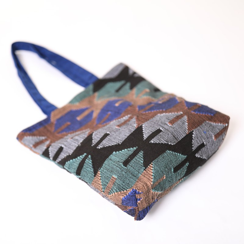 dhaka weave tote-night-fair trade