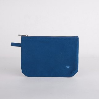 Mushroom MOGU/Canvas Storage Bag/Cobalt Blue/Boarding Pass