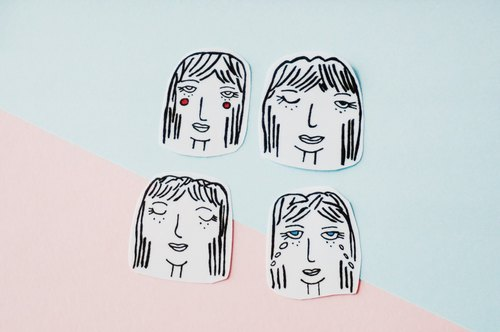 Cllare Stickers- Girl-1