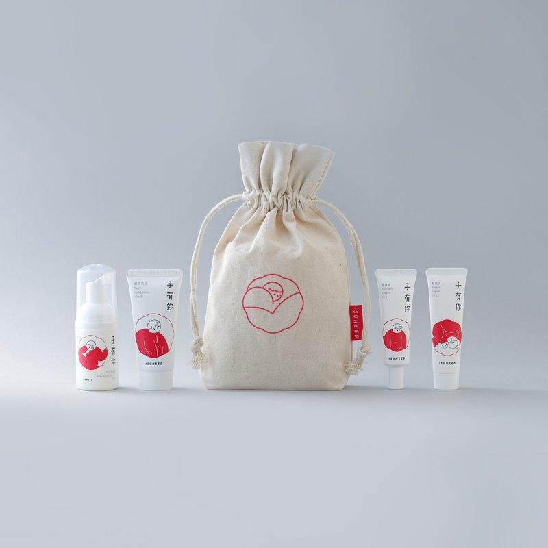 Baby Skin Care Travel Set