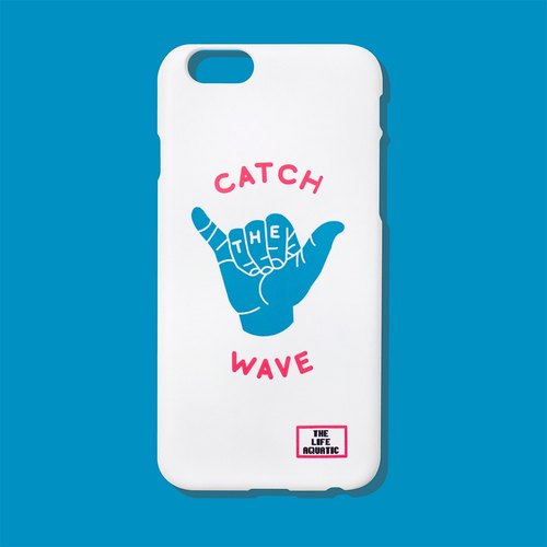 Double Six CATCH THE WAVE / Korea design and manufacture / phone shell / for iphone 6,6 +, 7,7 + /