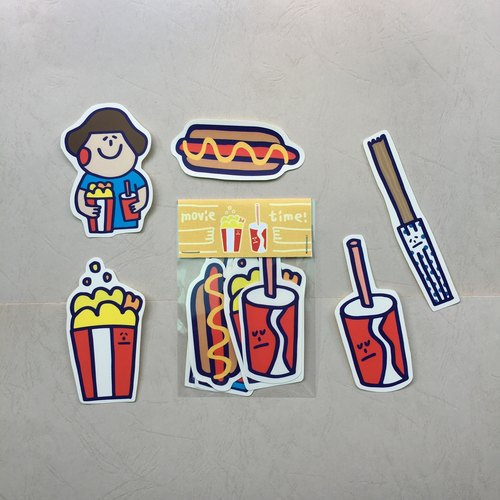 "Watching movies must match ""sticker group"""