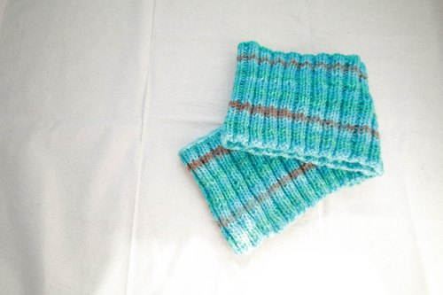 Araignee gradient color scarf / Turkey light blue / National Movement hippie style