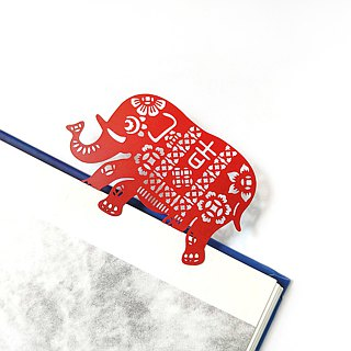 MARK TAIWAN Mai Mai Festival - Vientiane Update Metal Bookmark - Red