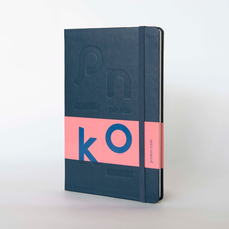 MOLESKINE X Pinkoi co-branded notebook