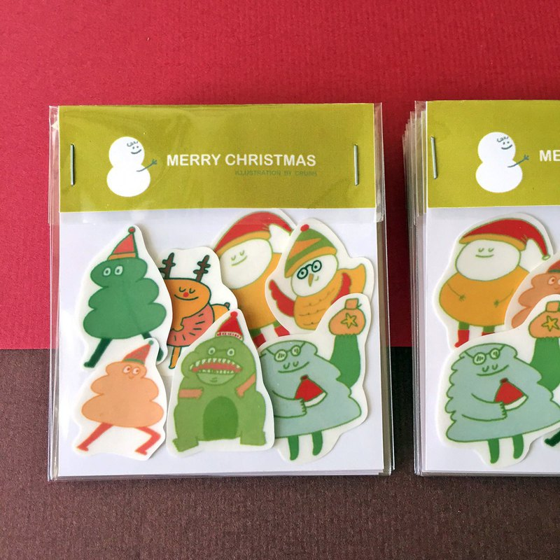 Crush's Christmas Stickers