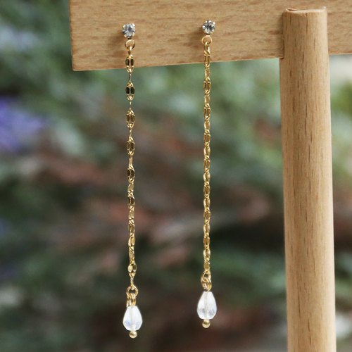Japanese handmade ornaments - hanging earrings