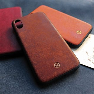 [VULCAN thin and light mobile phone case] iPhone 7 or above is suitable for Pueblo matte leather anti-fall