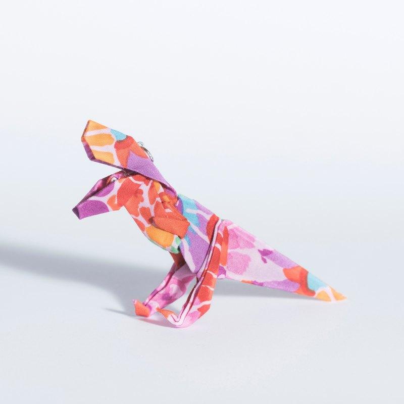 Flower tyrannosaurus pink origami flower pendant group flower tyrannosaurus pink origami flower pendant group mightylinksfo