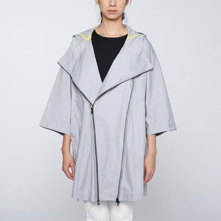 CA Ama Jacket Coating cape - gray