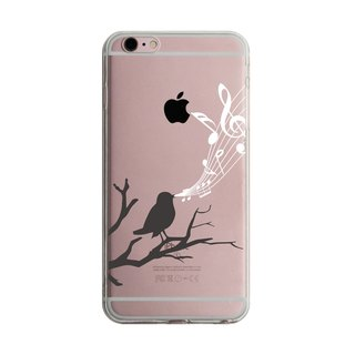 Custom singing bird transparent Samsung S5 S6 S7 note4 note5 iPhone 5 5s 6 6s 6 plus 7 7 plus ASUS HTC m9 Sony LG g4 g5 v10 phone shell mobile phone sets phone shell phonecase