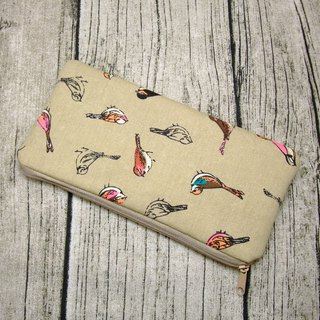 Large Zipper Pouch, Pencil Pouch, Gadget Bag, Cosmetic Bag (ZL-83)