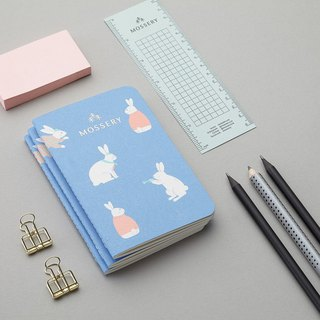 Bunny Blue Pocket Notebook