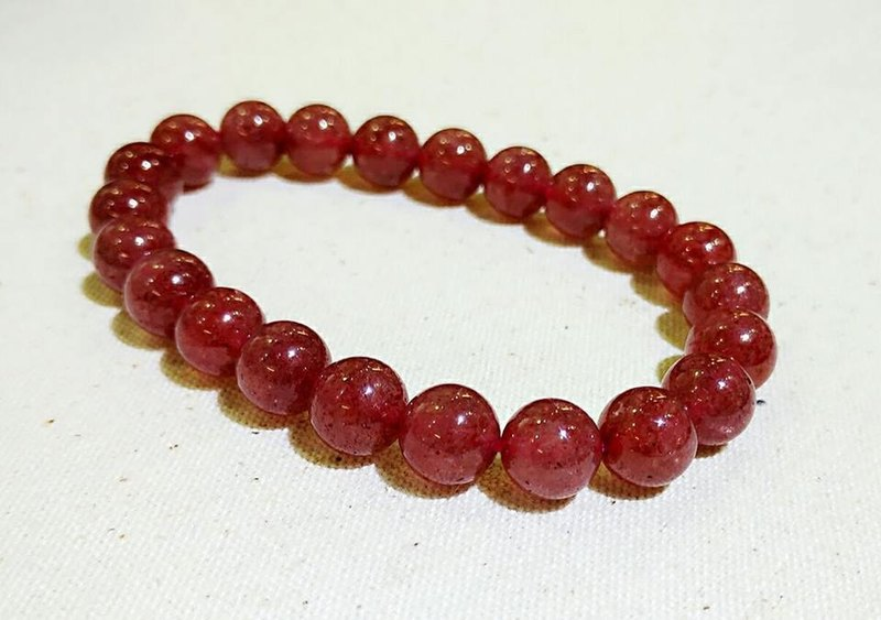 [Limited Specials] strawberry crystal bracelet - Limited Products