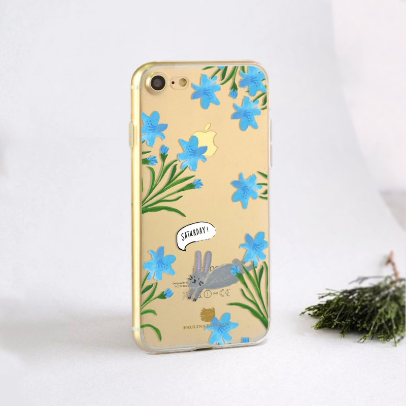 Animal clear phone case Floral iPhone x Case Samsung Note8 case HTC U11 case S8