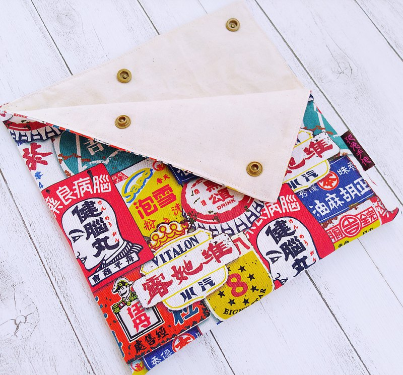 Red Taiwan Citrus Store Iron Brand Cotton Linen Instant Food Bag