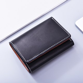 Tree Balm 3 Fold Black Short Clamp/ Wallet/ Wallet