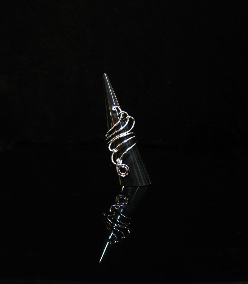 Winwing wire braid Ring - Ring [wing]. Memorial Ring