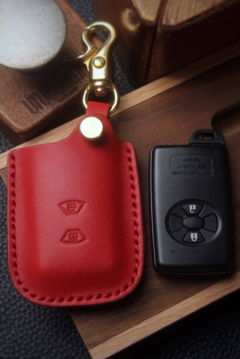 [Poseidon boutique handmade leather goods] Toyota Toyota car key holster hand-made