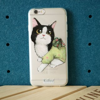 Home - Black and white cat suits phone case Case Case Case