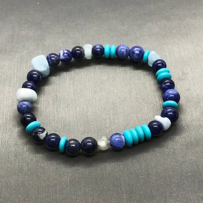 Turkish Blue Ethnic Style Bracelet