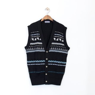 Banana Flyin' Vintage Japanese-made woven sweater vest
