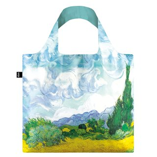 LOQI Shopping Bag - Museum Series (Wheat Field, New VGWHN)