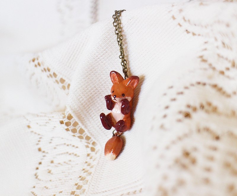 Little Prince's Fox Necklace