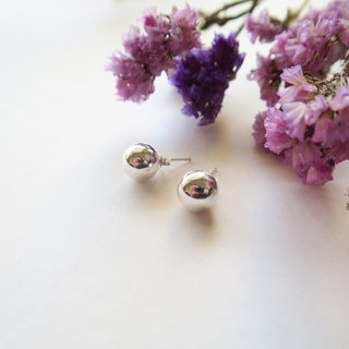 925 Silver Spherical Earring-Sold as a Pair