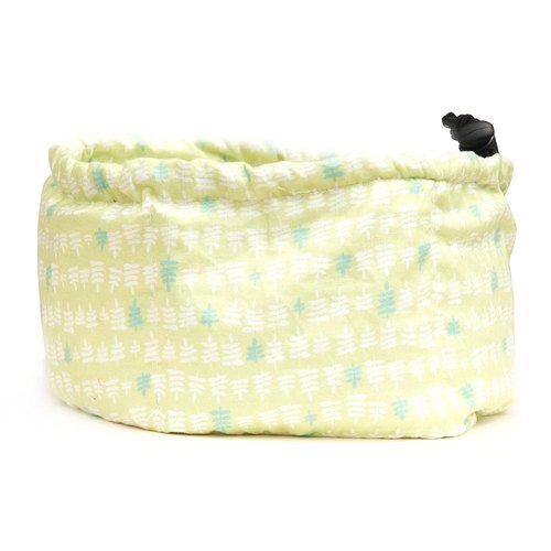 Cool refreshing summer essential pet towel L (fresh green trees)