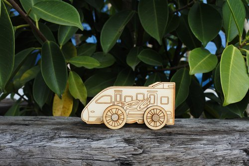 Lei carved wood for DIY card tenon train 【Puyuma Ma】 Red Spring Festival New Year office practical birthday memorial gift 2018 Happy New Year!